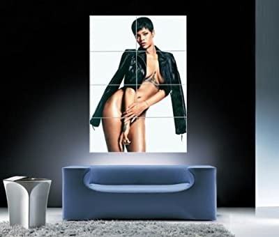 Rihanna Giant Art Wall Print Poster