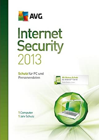 AVG Internet Security 2013 1-Platz