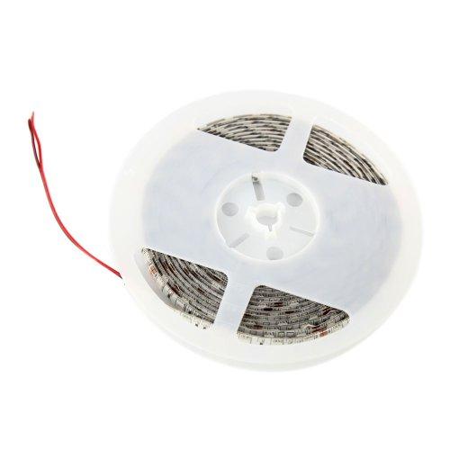 Aubig impermeabile 5050 SMD 5M/16.4ft 300LEDs 12V 60W LED Flessibile Striscia Luci Illuminazione Stringa per la Decorazione Rossa