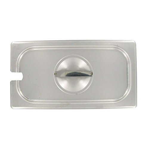 Vollrath 75239 S/S Slotted 1/3 Size Lid