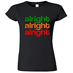 Alright Alright Alright Retro Women's Junior T-Shirt