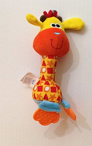 PlayGro Plush Giraffe Chiming Rattle