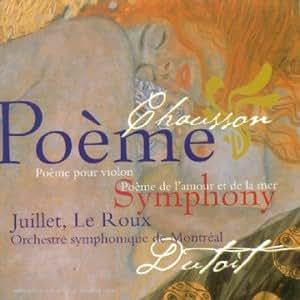 Poème pour violon / Poème de l'amour & de la mer