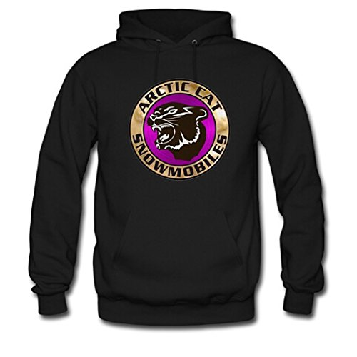 Soothing Men's and Women's Unisex Custom vintage arctic cat snowmobiles Classic Hoodie XL Black (Arctic Cat Snowmobile Clothing compare prices)