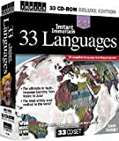 Topics' Instant Immersion 33 Languages (DVD). Arabic, Bengali, Brazilian (Portuguese), Chinese (Cantonese), Dutch, English, Farsi (Persian), Finish, French, German, Greek, Hebrew, Hindi, Hungarian, Irish, Italian, Japanese, Korean, Latin, Norwegian, Polish, Punjabi, Russian, Slovak, Spanish, Swahili, Swedish, Tagalog (Filipino), Thai, Tibetan, Ukrainian, Vietnamese, Zulu