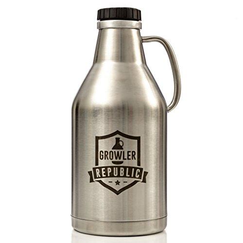 Best Stainless Steel Beer Growler Brewing Bros