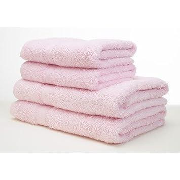 5 decotex mirage serviette serviette de bain rose clair cuisine maison m91. Black Bedroom Furniture Sets. Home Design Ideas