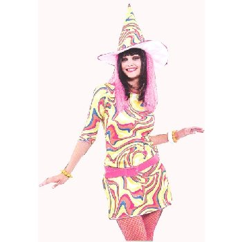 Adult Groovy Witch Costume
