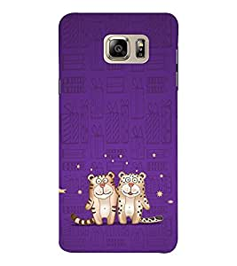 EPICCASE Posing Tiger Mobile Back Case Cover For Samsung Note 6 (Designer Case)