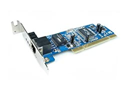 HiRO H50070 32 bit Internal Low Profile PCI Gigabit Fast Ethernet Card (H50070)