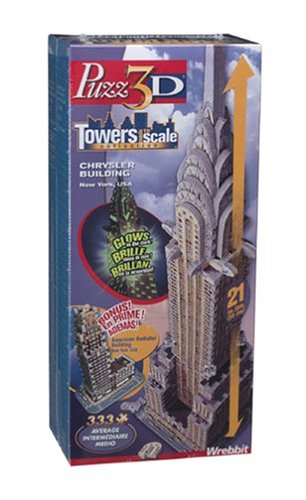 Cheap Wrebbit / Puzz3D 3D Chrysler Building 3D Puzzle 278pc (B00009KX3K)
