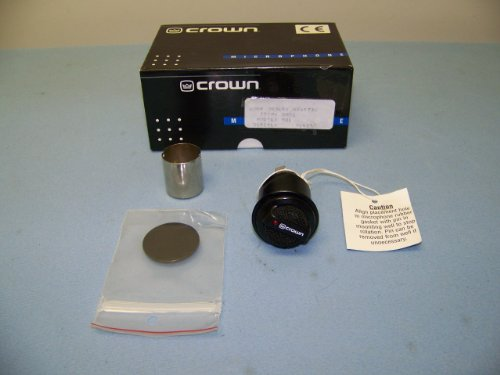 Crown Mb1 Ultra Low Profile Supercardioid Condenser Boundary Microphone