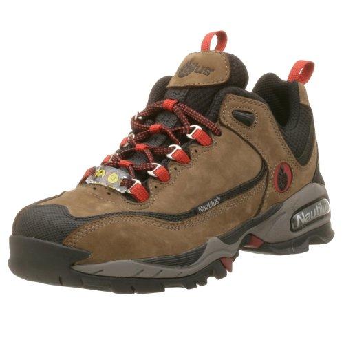 Nautilus Men's 1392 Steel Toe Lace-Up Sneaker,Moss,11.5 M