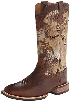 Ariat Men's Quickdraw Equestrian Boot,Earth/Kryptek,7 M US