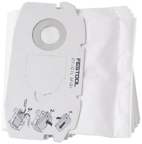 Festool 498411 Self Clean Filter Bag For Ct Midi front-515526