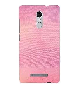 PrintVisa Pink Pattern 3D Hard Polycarbonate Designer Back Case Cover for Xiaomi Redmi Note 3