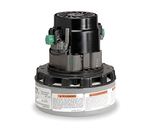 Ametek 120 Volt AC Vacuum Motor 3 Stage for Windsor, Nobles, and Tennant 120V Carpet Extractors - 116764-13 by Ametek