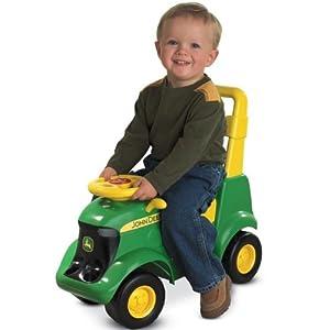 John Deere Sit-N-Scoot Activity Tractor