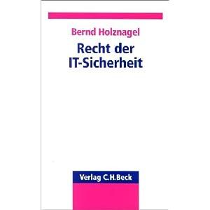 eBook Cover für  Recht der IT Sicherheit
