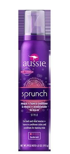 Aussie catch the wave mousse plus leave in hair conditioner, flexible hold - 6.8 Oz (381519041242)