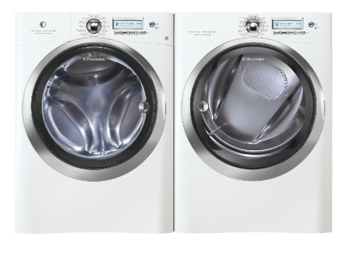 Electrolux Laundry Bundle | Electrolux EWFLS70JIW Washer & Electrolux EWMED70JIW Electric Dryer - White
