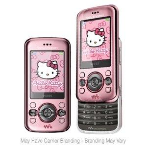Sony Ericsson W395 Hello Kitty Limited Edition