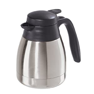 Oggi Solo 22-Ounce Thermal Vacuum Carafe with Stainless Steel Liner and Press Button Top