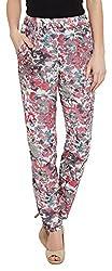 The Vanca Women's Trouser (TRF350144-Grey-L )