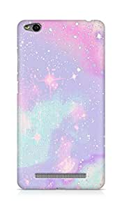 Amez designer printed 3d premium high quality back case cover for Xiaomi Redmi 3S (trippy pastel)