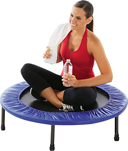 """Pure Fitness 40"""" Mini Rebounder Trampoline, Ages 13+"""