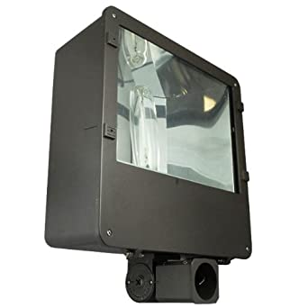 400 watt pulse start metal halide flood light fixture 120 208. Black Bedroom Furniture Sets. Home Design Ideas