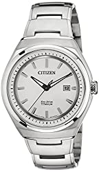 Citizen Analog White Dial Mens Watch - AW1251-51A