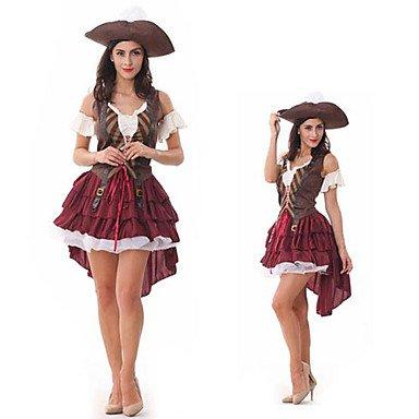Souked halloween sexy Piratenkleid erwachsenen Frauen-Kostüm