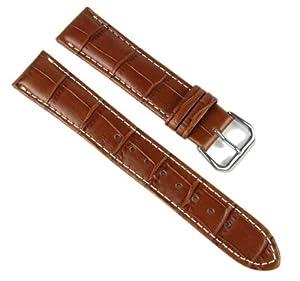 Casio Correa de Reloj cuero Band marrón 20mm WVQ-121LE-1AV, WVQ-121LE de Casio Correa de Reloj