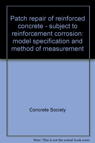 patch-repair-of-reinforced-concrete-subject-to-reinforcement-corrosion-model-specification-and-metho