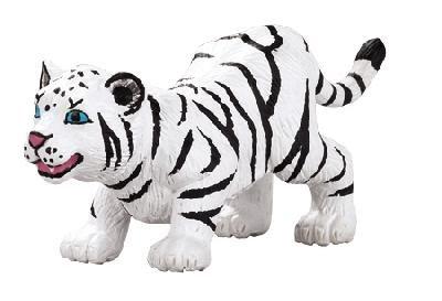 Safari Ltd. Crouching White Tiger Cub - 1