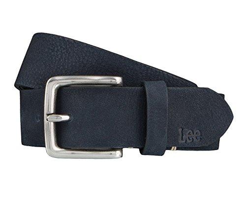 Lee Cintura di uomini Cintura di Pelle blu, Länge:105 cm;Farbe:blau