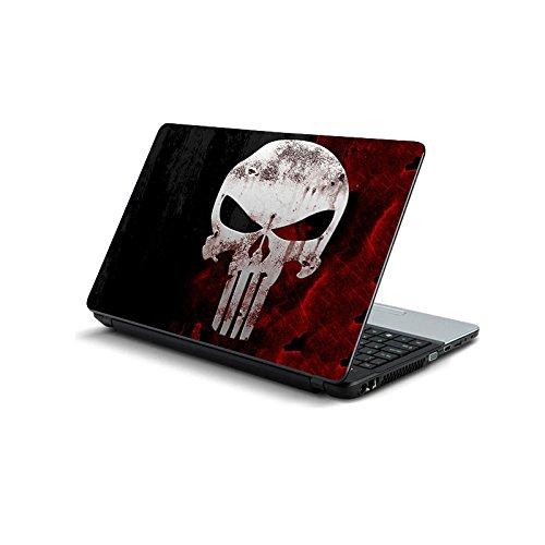 ezyPRNT Skull Laptop Skin Decal