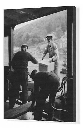 Canvas Print Of Mail Steamer, 1940S front-621654