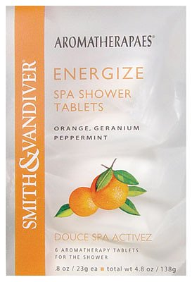 Aromatherapaes Energize Spa Shower Tablets 4.8oz