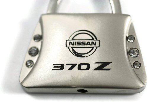 Nissan 370 z 370Z Jeweled Purse Key Fob Authentic Logo Key Chain Key Ring Keychain Lanyard (Nissan 370 Z compare prices)