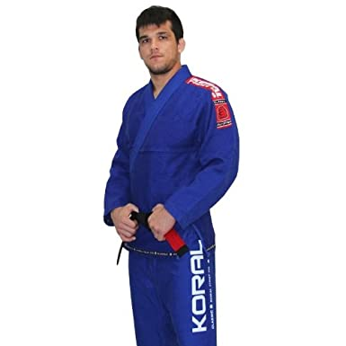 Koral Fight Co Classic BJJ Gi - Blue