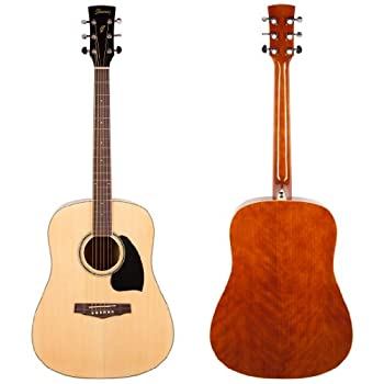 Ibanez PF15 Performance Acoustic Guitar with Case (Natural) best buy