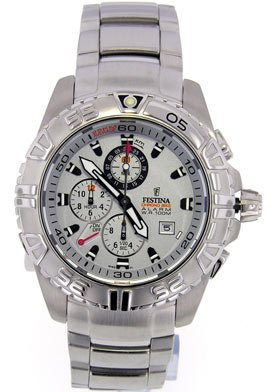 Festina Men's Tour De France Multi-function Stainless Steel