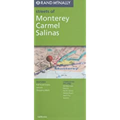 Rand McNally Streets of Monterey, Carmel/ Salinas (Rand McNally Streets Of...)