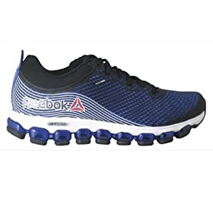 Reebok Men's ZJet Running Shoe,Vital Blue/Black/White,10 M US