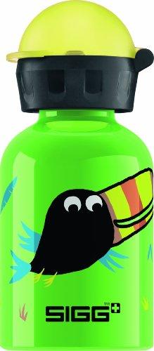 Sigg Jungle Bird Water Bottle, Green, 0.3-Liter front-545132