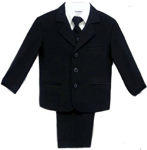 Infants & Toddlers 5 Pc Navy Suit with Vest - Size 5T barbour hackamore vest navy