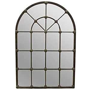 Amazon.com: Import Collection 22-354 Large Arch Mirror: Home & Kitchen