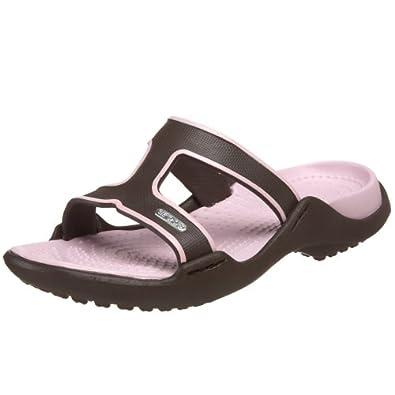 Simple Crocs Womens Capri IV Flat Thong Slippers  11211